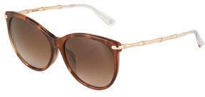 Gucci Round Cat-Eye Combo Sunglasses