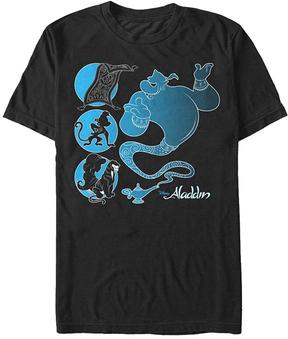 Fifth Sun Aladdin Genie & Friends Tee - Men's Regular