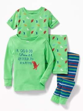 Old Navy R-oooo-aa-rr! 4-Piece Sleep Set for Toddler & Baby