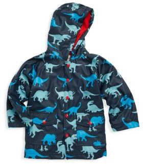 Hatley Little Boy's & Boy's Dino Shadows Polyurethane Raincoat