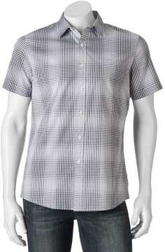 Apt. 9 Men's Patterned Slim-Fit Stretch Button-Down Shirt