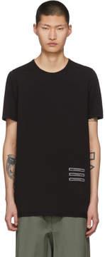 Rick Owens Black Text Patch Level T-Shirt