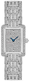 Bulova Women's Stainless Crystal Watch with Pave Dial
