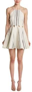 Dolce Vita Blanche Linen-blend A-line Dress.