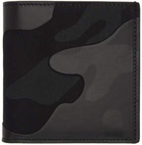 Valentino Black Garavani Camo Wallet