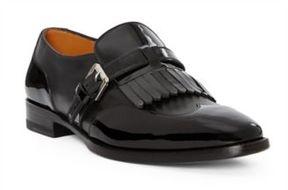 Ralph Lauren Galessa Calfskin-Patent Loafer Black 37