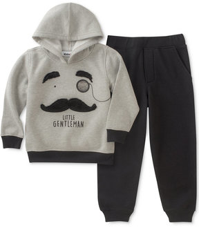 Kids Headquarters Mustache Hoodie & Joggers Set, Little Boys (4-7)