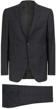 Pal Zileri Windowpane Check Wool Suit