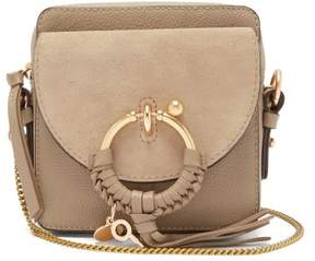 See by Chloe Joan Mini Leather Cross Body Bag - Womens - Grey