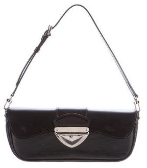 Louis Vuitton Epi Pochette Montaigne - BLACK - STYLE
