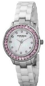 Akribos XXIV Mother Of Pearl Dial Quartz Ladies Watch