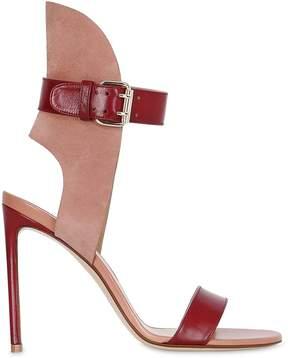 Francesco Russo 105mm Leather & Suede Sandals