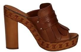 Casadei Women's Brown Leather Heels.