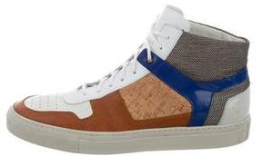 Common Projects Tim Coppens x Embroidered Leather Sneakers