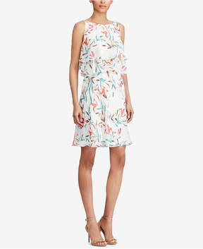 American Living Floral-Print Popover Dress