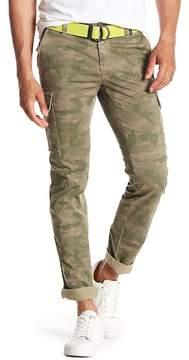 Mason MASONS Camo Print Cargo Pants