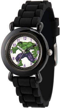 Marvel Avengers Boys Black Strap Watch-Wma000232