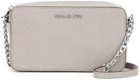 MICHAEL Michael Kors Medium East/West Chain Cross-Body Bag - PEARL GREY - STYLE