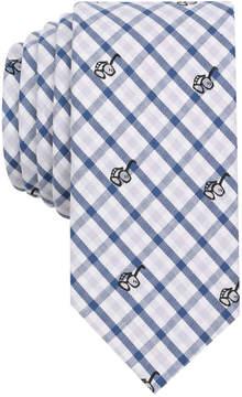 Bar III Men's Sunglasses & Gingham Print Skinny Tie, Created for Macy's