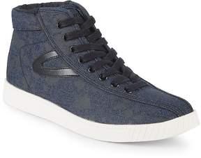 Tretorn Men's Nylitehi Metallic High-Top Sneakers