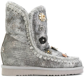 Mou embellished winter boots