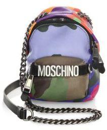 Moschino Fantasy Leather Crossbody Bag
