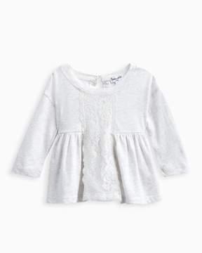 Splendid Baby Girl Lace Insert Top