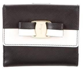 Salvatore Ferragamo Vara French Wallet w/ Tags