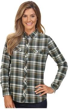 Merrell Vagabond Flannel Shirt Women's Long Sleeve Button Up