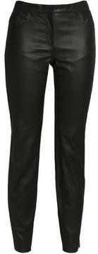 Amanda Wakeley Leather Slim-Leg Pants