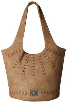 American West Sagebrush Soft Bucket Tote Tote Handbags