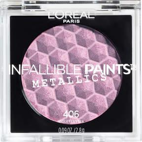 L'Oreal Infallible Paints Eyeshadow Metallics