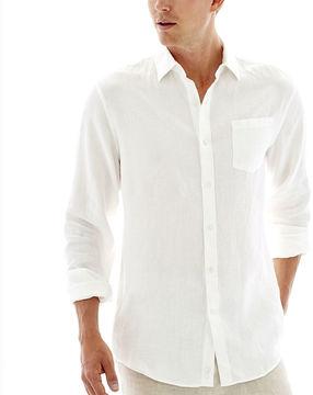 Claiborne Long-Sleeve Linen Shirt