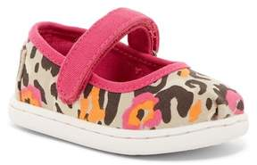 Toms Floral Leopard Mary Jane Flat (Baby, Toddler, & Little Kid)