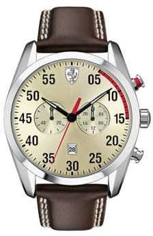Ferrari D50 Stainless Steel Chronograph Watch
