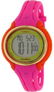 Timex Women's Ironman TW5M02800 Pink Silicone Japanese Quartz Fashion Watch