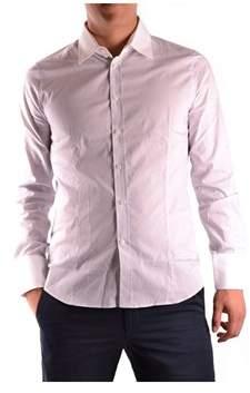 Gazzarrini Men's Pink Cotton Shirt.
