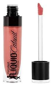Maybelline Wet N Wild Megalast Liquid Catsuit Matte Lipstick, Nudist Peach.