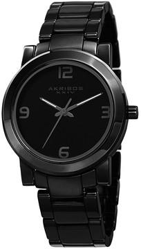 Akribos XXIV Black Ceramic Men's Watch