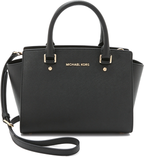 MICHAEL Michael Kors Selma Medium Top Zip Satchel