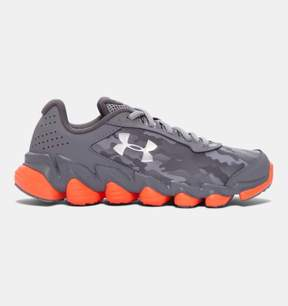 Under Armour Boys' Grade School UA SpineTM Disrupt Camo Running Shoes