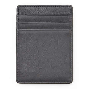 Royce Leather Royce Nappa Leather Prima Magnetic Money Clip Wallet