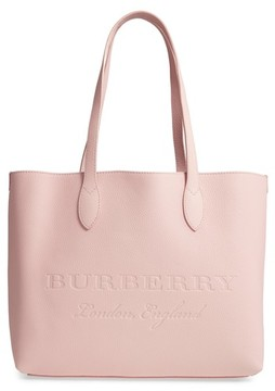 Burberry Remington Leather Tote - Pink - PINK - STYLE