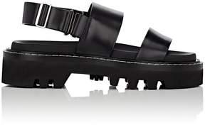 Calvin Klein WOMEN'S MARLI LEATHER DOUBLE-STRAP SANDALS