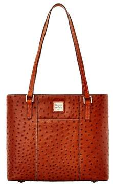 Dooney & Bourke Ostrich Small Lexington Bag - COGNAC - STYLE