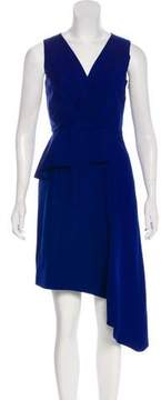 Christian Dior Mohair & Wool-Blend Midi Dress