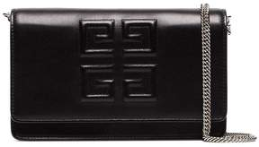 Givenchy Black Emblem Chain Wallet