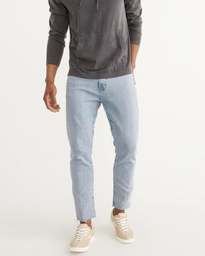 Abercrombie & Fitch Cropped Athletic Slim Jeans