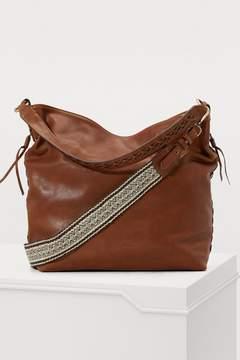 Vanessa Bruno Hobo leather handbag