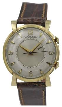 Jaeger-LeCoultre Jaeger LeCoultre Memovox Yellow Gold Vintage Watch